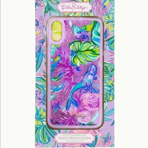 NEW LILLY PULITZER iPhone X XS Mermaid
